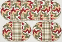 Summer Storm Place Mats and Table Runner